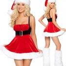 Seductive Santa Dress Christmas Costume