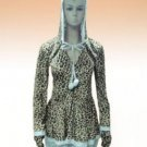 Sleigh Belle Leopard Print Costume