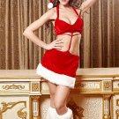 Sexy Santa's Beauty Velvet Costume