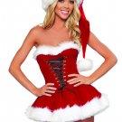 Sweetheart Miss Santa Sexy Adult Women Christmas Costume