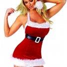 Sexy Halter Neck Christmas Dress