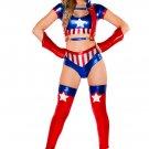 Girls' American Hero Costume