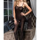 Open Crotch Sheer Bodystocking
