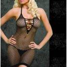 Oval Net Strappy Dress