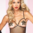Women's Leopard Silicone Nipple Cover Up Pasties