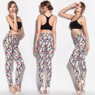 Multi-color Triangle Printed Legging
