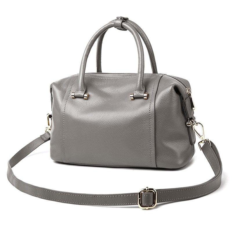 More Color Genuine Leather Shoulder Handbag