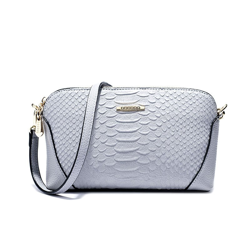 Mini Crocodile Pattern Shoulder Bag