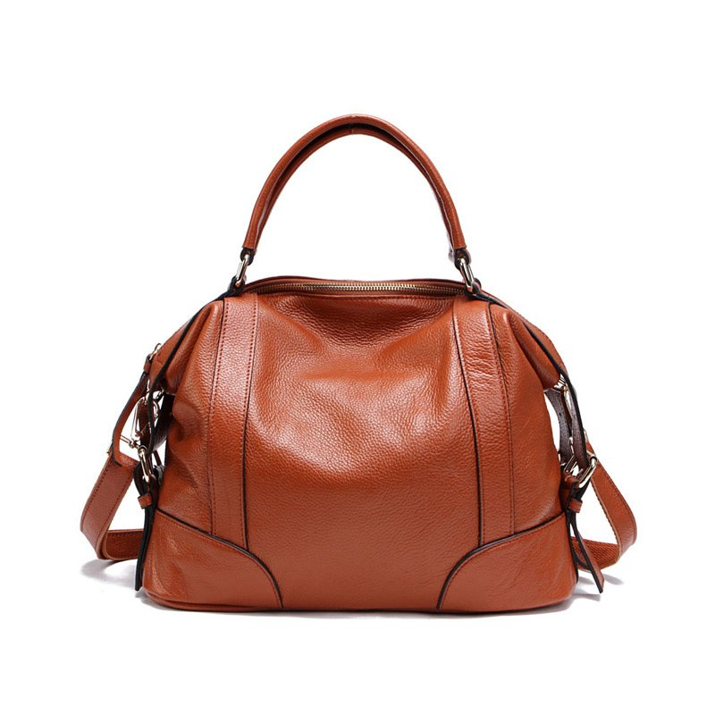 Genuine Leather Leisure Shoulder Bag