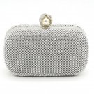 Diamond Pearl Evening Bag Wedding Party Clutch