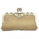 Eagle Diamond Clutch Bag Kiss Lock