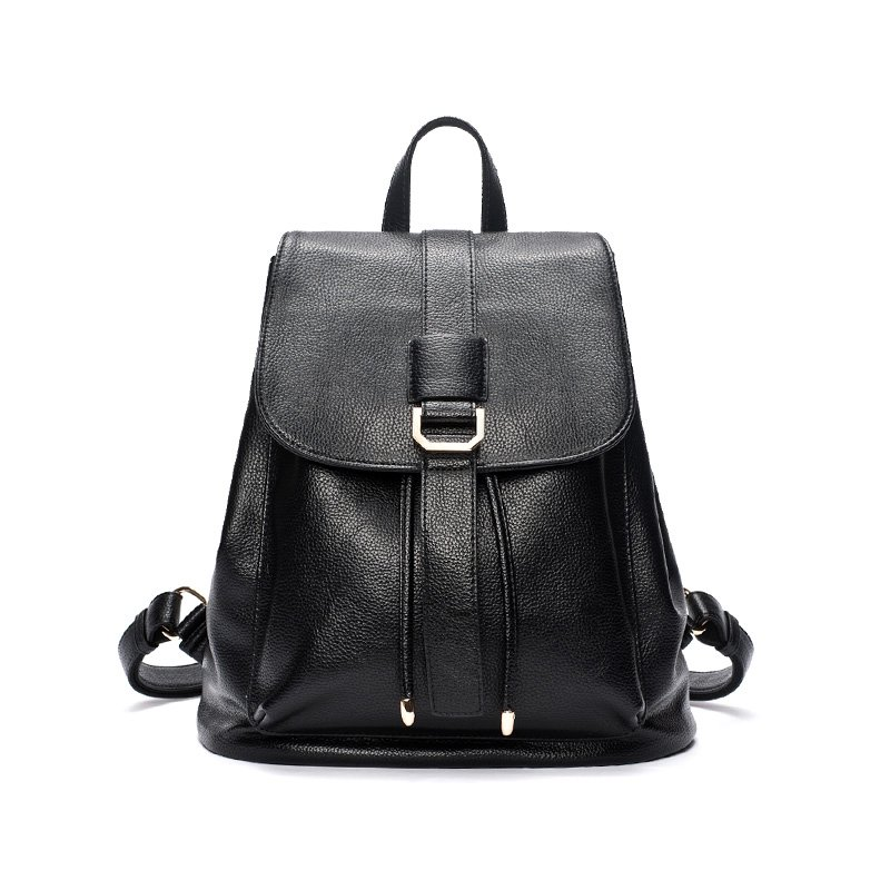 Casual PU Leather Backpack