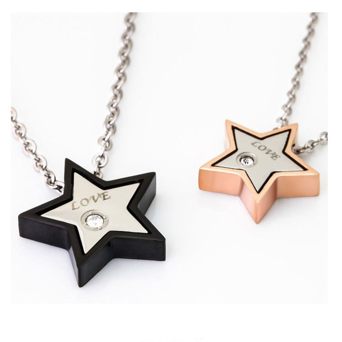 Love Star Couple Necklaces