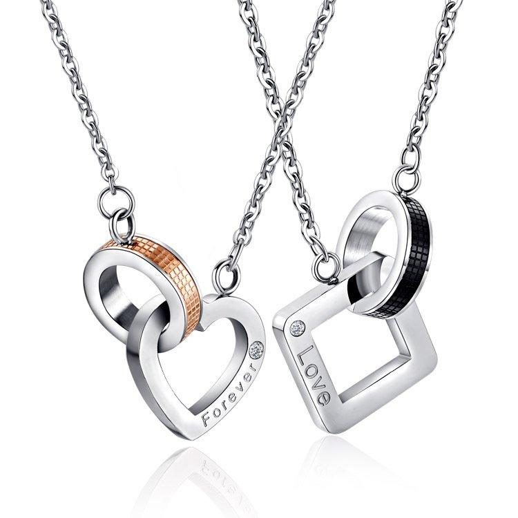 Interlocking Style Necklace