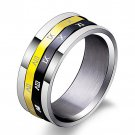 Spin Roman Numeral Men Rings