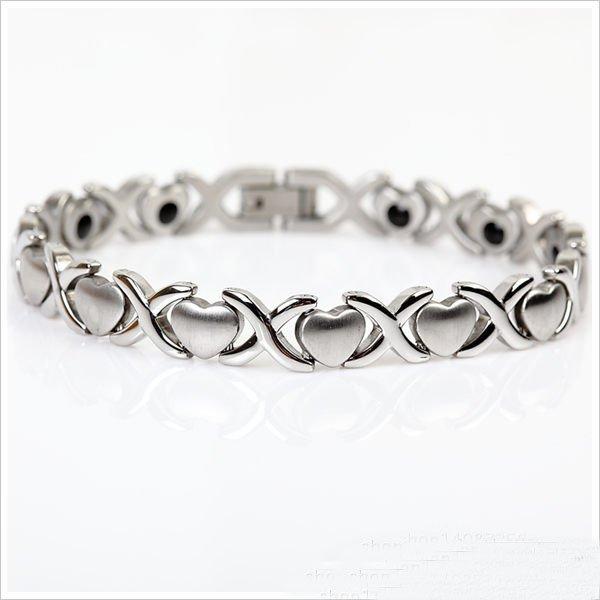 Fashion Heart Links Bracelet