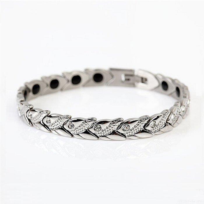 Women's Diamond Accent Curb Link Bracelet