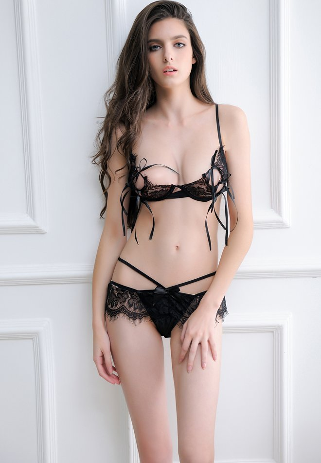 Two Pieces Of Sexy Lingerie For The Nipple
