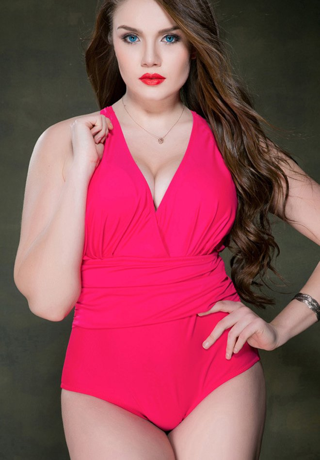 High Quality One Piece Plus Size Swimsuit