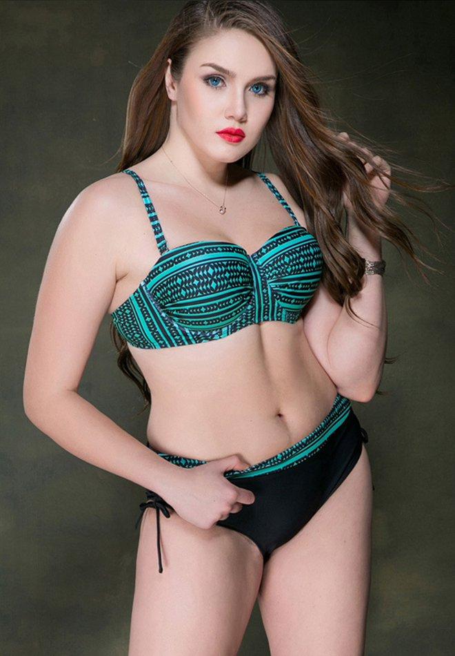 Plus Size Sexy Women Bikini Swimwear