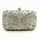 Ericdress Deluxe Beaded Rhinestone Pillow Evening Bag