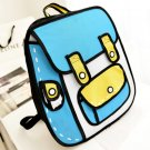 Funny 3D Cartoon Backpack Bags