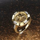 Fashion Windmill Gold Plated Ring