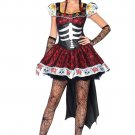 Deluxe Day Of The Dead Costume