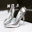 Tip diamond wave point high heels