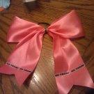 Pink Cheer bow