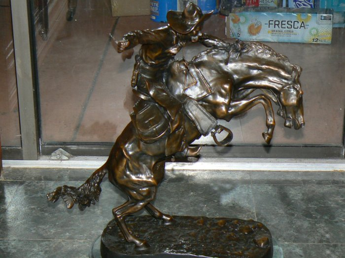 Frederick Remington Bronze Statue
