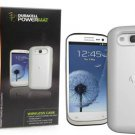 New Duracell Powermat Wireless Charging Case for Samsung Galaxy S3 White RCG3W1