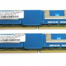 8GB Micron 2x4GB PC2-5300 DDR2-667MHz 240Pin DIMM Memory MT36HTF51272FY-667E1D4