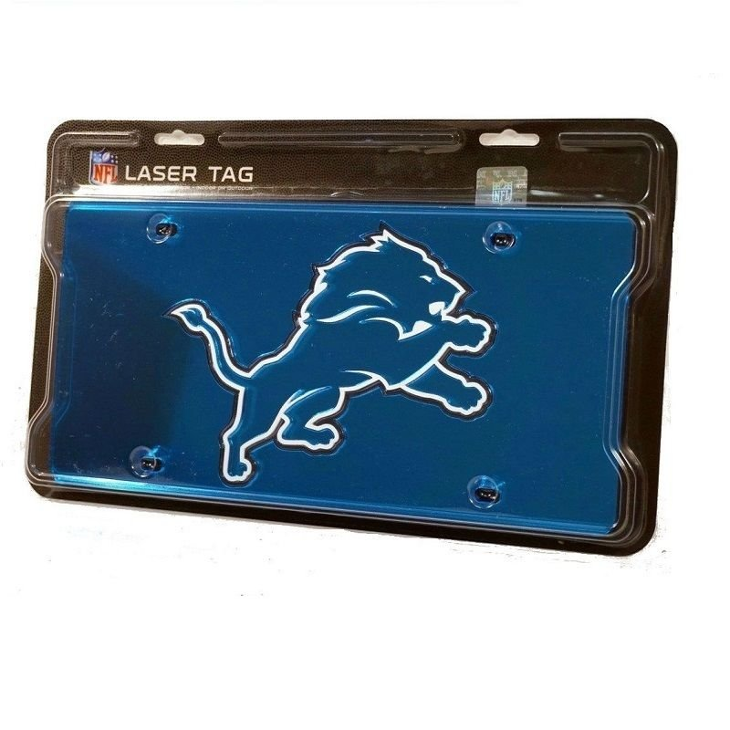 NFL Laser Tag Mirror License Plates