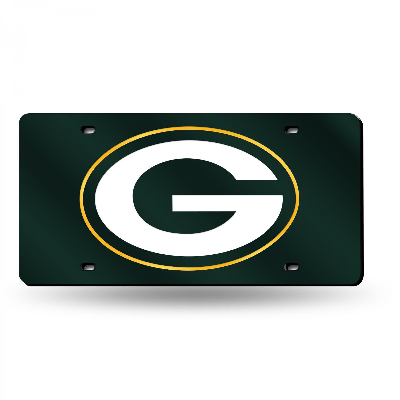 NFL Laser Tag Mirror License Plates