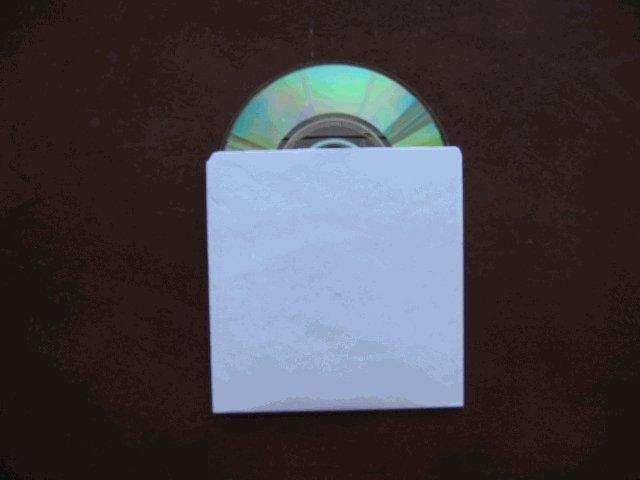 100 MINI CD/DVD TYVEK SLEEVES - JS280