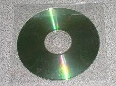 100 Polypropylene CD / DVD SLEEVES w/ FLAP - PSP80