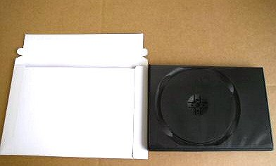 100 DVD CASE MAILERS W/PEEL & SEAL - JS29