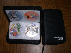 CD WALLET THAT HOLDS 108 CDS - JS35