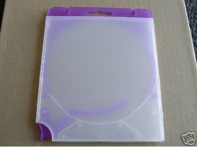 50 TRIGGER EJECTOR CD CASES, PURPLE - TRIGPUR