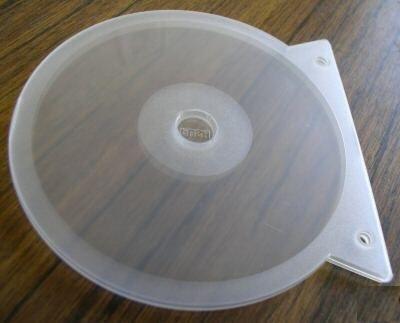 100 CD BINDING CLAMSHELL SINGLE CLEAR SF17