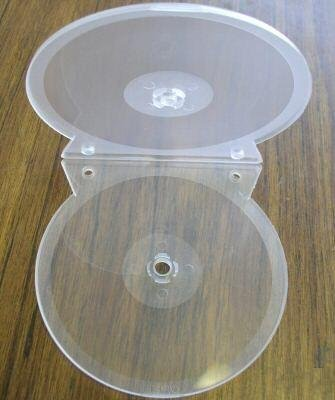 100 CD BINDING CLAMSHELL DOUBLE CLEAR SF18