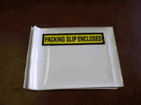 500 PACKING LIST ENCLOSED ENVELOPES - BL06