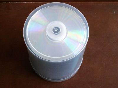 100 TAIYO YUDEN CD-R, SILVER/BLUE, 80 min, 700MB, 52X