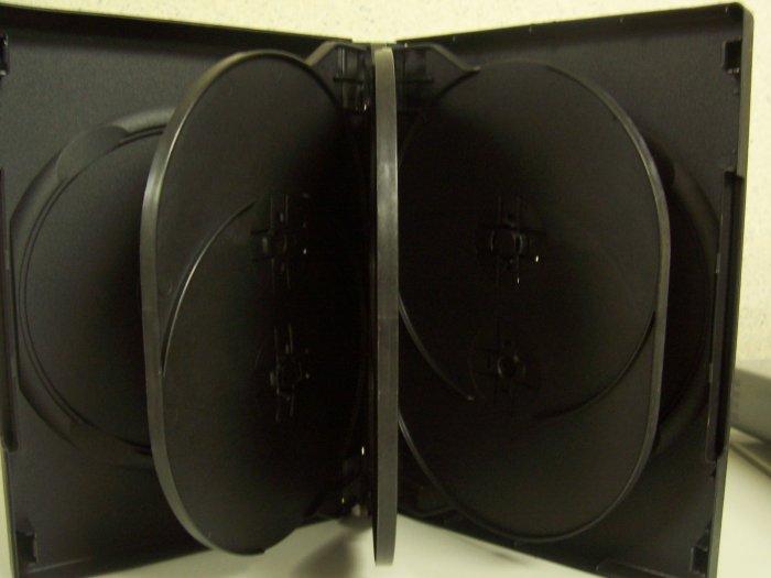 10 MULTI 8 DVD CASE, BLACK - SF003