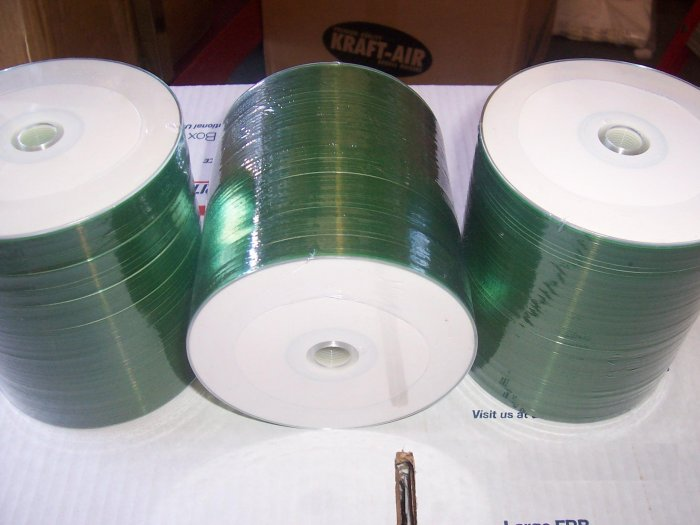 100 CDR, WHITE INKJET HUB PRINTABLE, LDB PRO - JS302