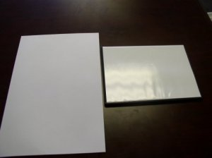 1000 DVD CASE INSERTS, WHITE MB5