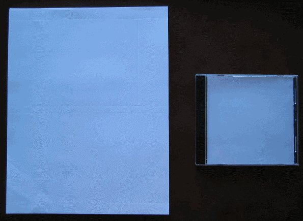 2000 LDB ECONOMATTE CD CASE INSERT & TRAYLINER YB2