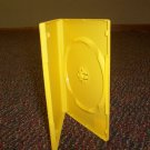 500 NEW STANDARD DVD CASES, Yellow Opaque - BL70