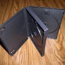 50 TRIPLE DVD CASE, BLACK, NO LOGO - PSD52